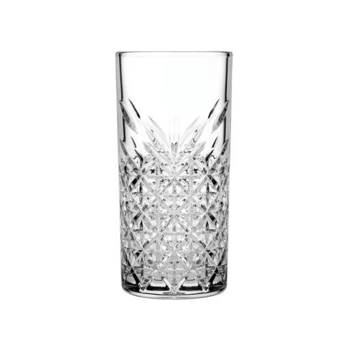Ποτήρι γυάλινο νερού 450ml σκαλιστό