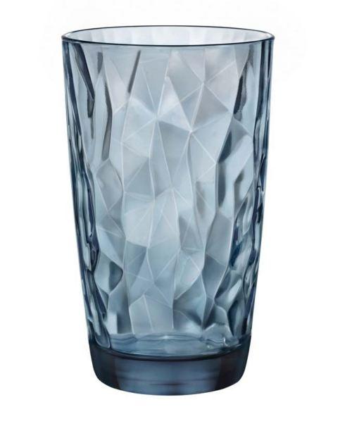 Ποτήρι γυάλινο νερού 470ml Blue Diamond