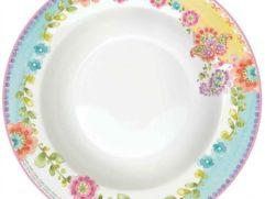 Πιάτο σούπας πορσελάνης 21,5 εκ. Gipsy