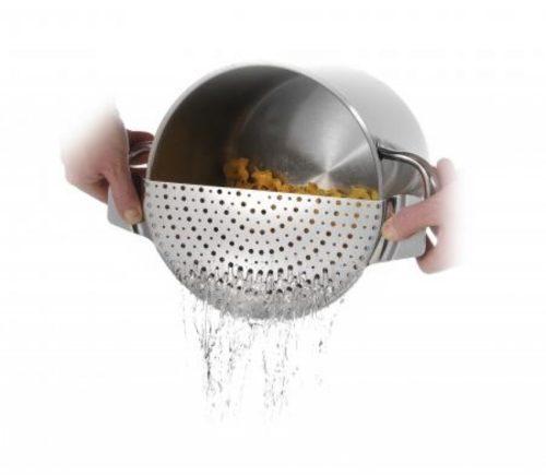 Εργαλείο αποστραγγίσματος ανοξείδωτο σουρωτήρι κατσαρόλας
