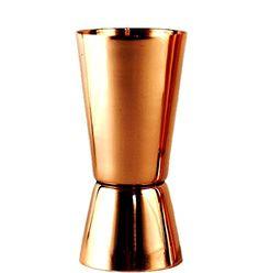 Μεζούρα ποτών 30-60 μπρονζέ copper