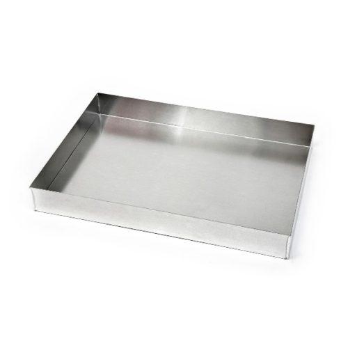 Ταψί κολλητό αλουμινίου ζαχαροπλαστείου 25x35x4