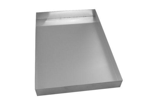 Ταψί κολλητό αλουμινίου ζαχαροπλαστείου 28Χ42Χ5