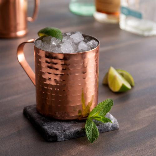 Κούπα- ποτήρι κοκτέιλ μπρονζέ copper