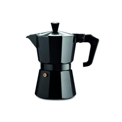 Καφετιερα Μπρίκι Καφέ Espresso Italexpress Κόκκινο 6 Φλιτζάνι Pezzetti χρωματα κοκκινο-λευκο-μαυρο