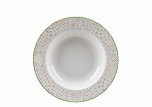 Πιάτο βαθύ πορσελάνη Ιωνία Basics Chromata