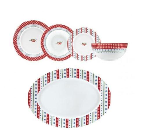 πιάτα πορσελάνη Ιωνία Basics Chromata