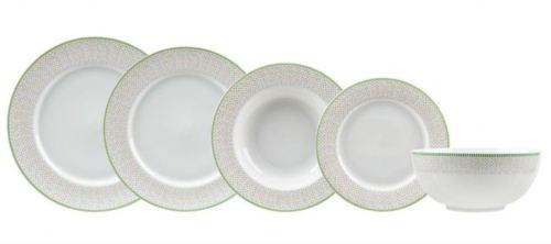 116370 Σετ 20 τεμαχίων πιάτα πορσελάνη