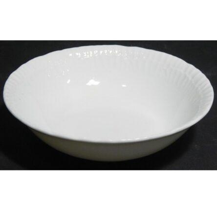 Σαλατιέρα-μπολ σαλάτας πορσελάνη ανάγλυφη ferelli 25 εκατοστά