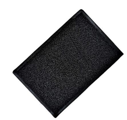 Ταπέτο εξωτερικού χώρου λάστιχο μαύρο