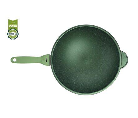 Γουόκ χυτό αλουμινίου - Wok 30 Risoli Dr Green