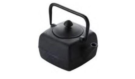 Τσαγιέρα μαντέμι μαύρη 0.4 ml