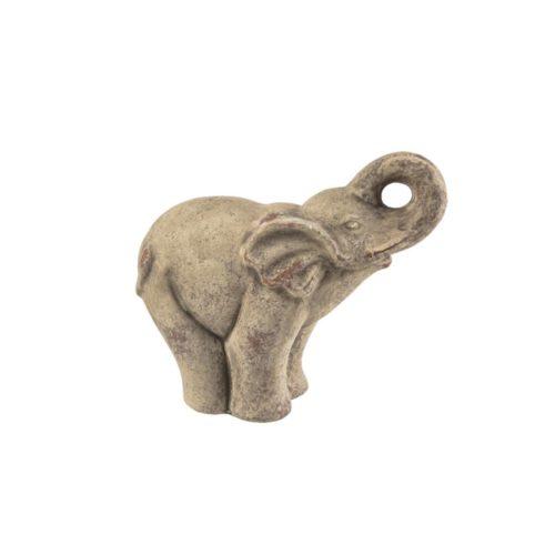 Ελέφαντας διακοσμητικός πέτρα μεγάλος