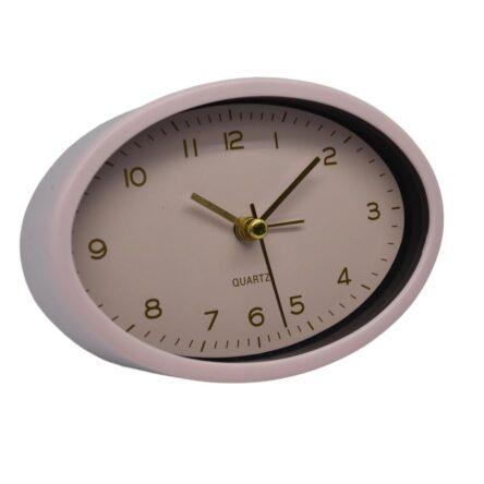 Ρολόι ξυπνητήρι πλαστικό οβάλ