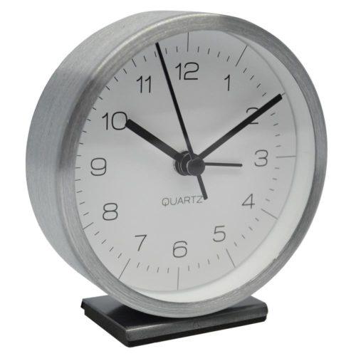 Ρολόι ξυπνητήρι μεταλλικό