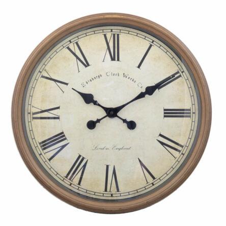 Ρολόι κρεμαστό μεγάλο 50 εκατοστά πλαστικό