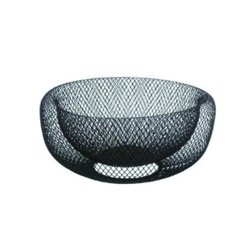 Φρουτιέρα επιτραπέζια μεταλλική μαύρη