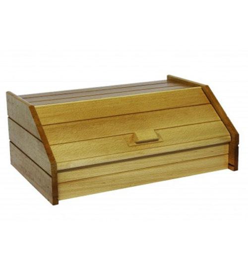 Ψωμιέρα από ξύλο οξείας φυσικο χρώμα