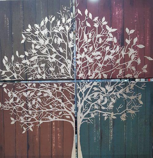 Πίνακας τετράπτυχος το δέντρο της γονιμότητας