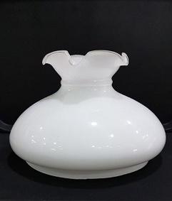Λευκό γυαλί λάμπας 17Α