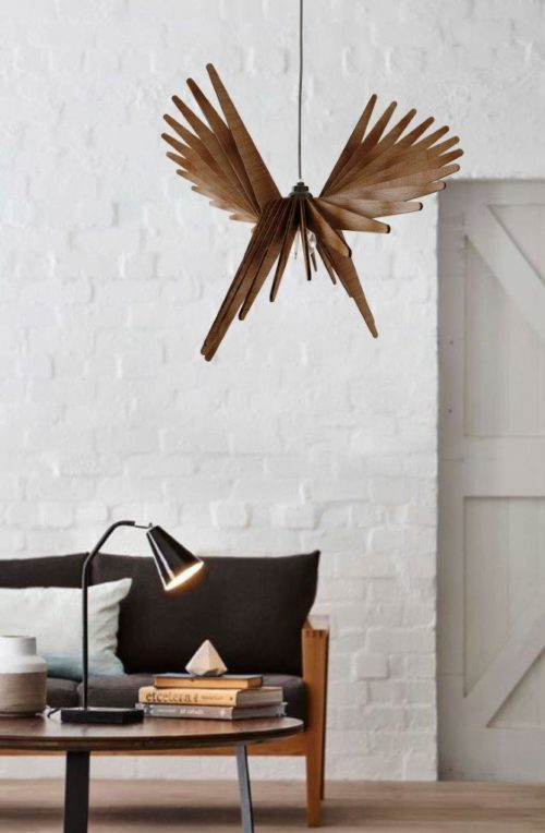 Birdy- modern chandelier light