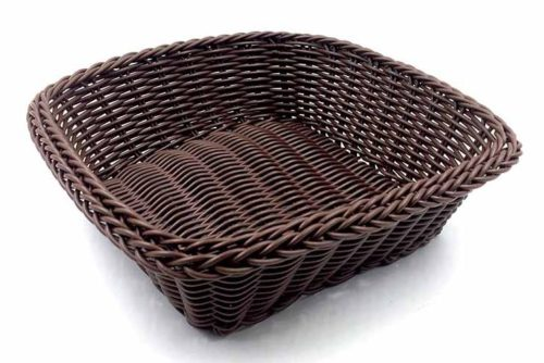 Ψωμιέρα τετράγωνη πλαστική