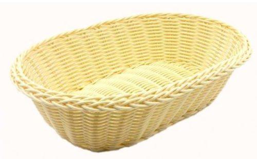Ψωμιέρα οβάλ ρατάν