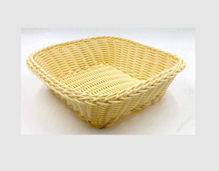 Ψωμιέρα τετράγωνη μπεζ