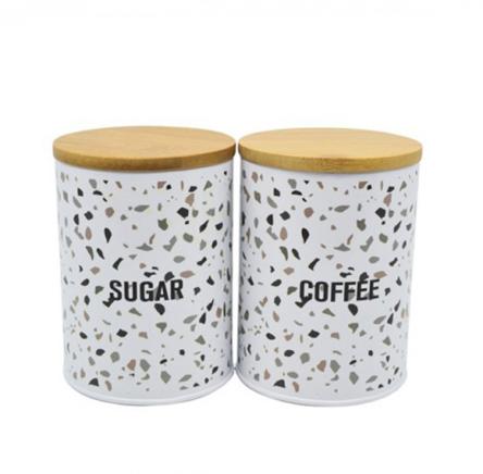 Σετ μεταλλικό ζάχαρη καφέ