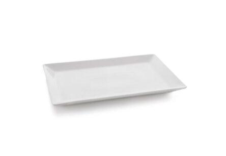 Πιατέλα λευκή ορθογώνια
