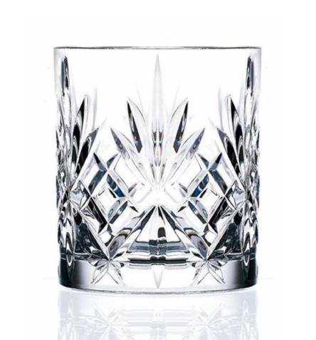 Ποτήρι ουίσκι ανάγλυφο