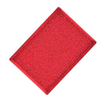 Ταπέτο εξωτερικού χώρου λάστιχο κόκκινο 45χ75