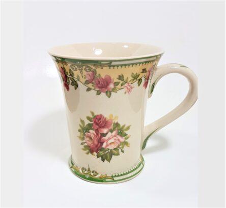Κούπα κλασική με λουλούδια