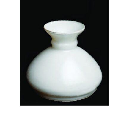 Λευκό γυαλί λάμπας 19Α 17 εκατοστά