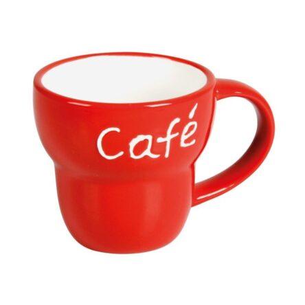 Κούπα καφέ κόκκινη