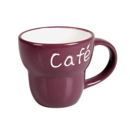 Κούπα καφέ μωβ